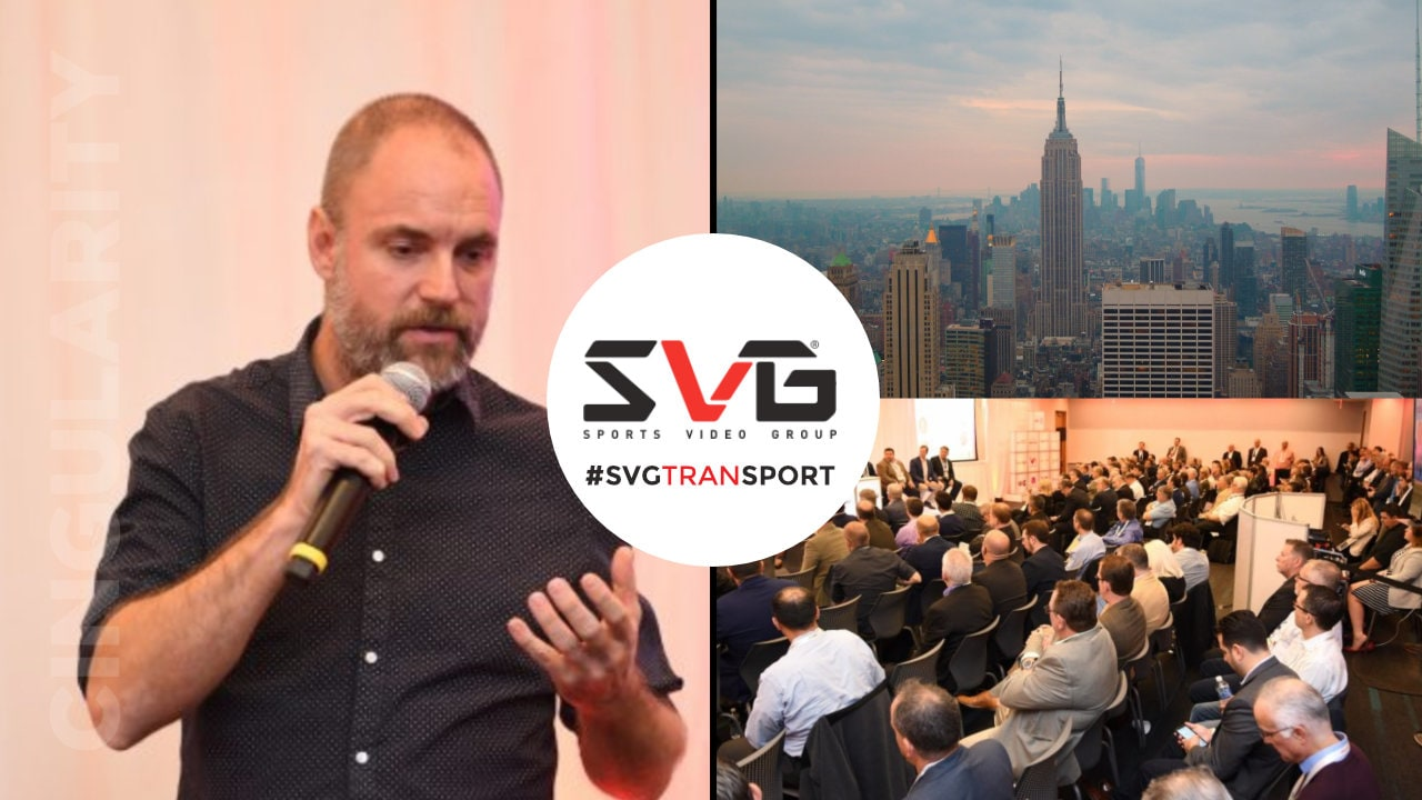dan pope cingularity featured speaker - Cingularity Featured Speaker at SVG live in New York