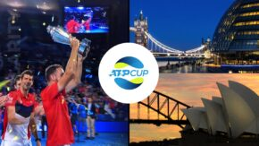 Cingularity Connects London to Sydney for the ATP Cup